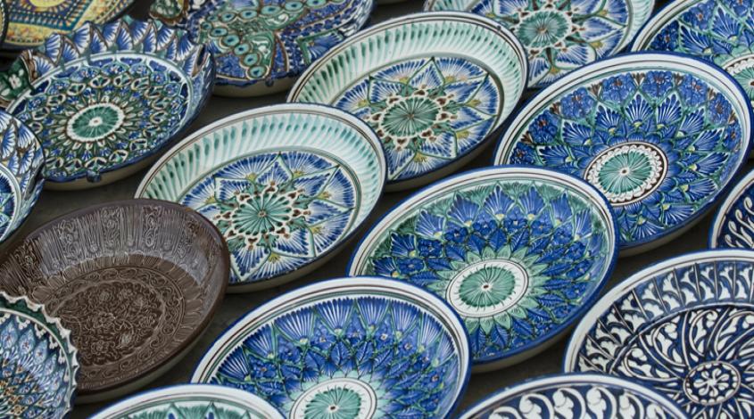 Керамика узбекских мастеров — фото 1