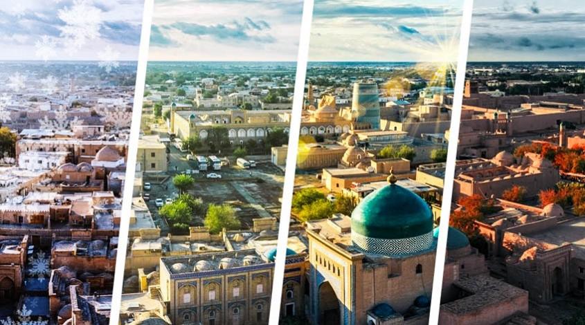 What season to visit Uzbekistan — photo 1