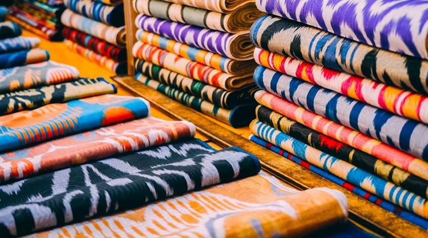 Uzbek silk — photo 1