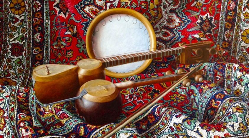 Музыкальный инструмент гиджак — фото 1