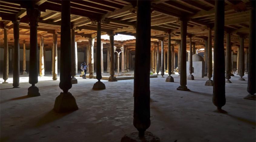 Джума мечеть Хивы — фото 1