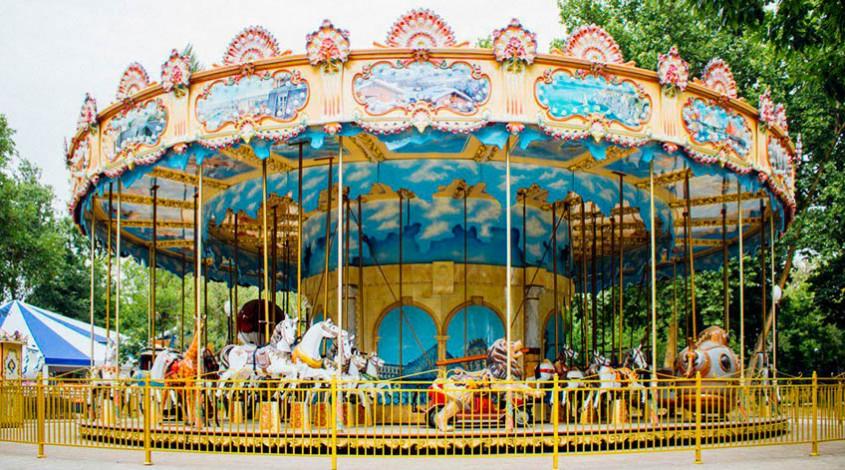 Central Park (бывший парк им. Мирзо Улугбека) — фото 1
