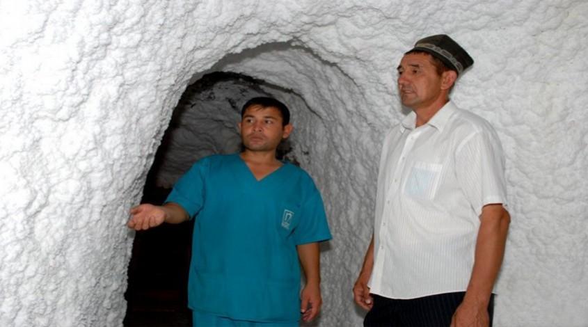Соляная пещера «Ходжаикон» — фото 1